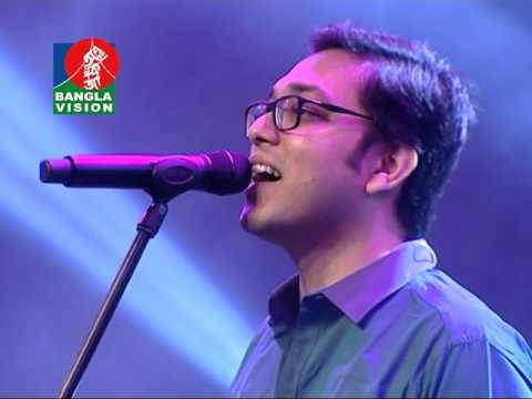 Anupam Roy Bangladesh concert 2016, co-ordinated by shamim shahed