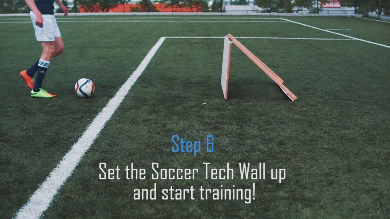 8feabbffa Build A Soccer Wall - YouTube