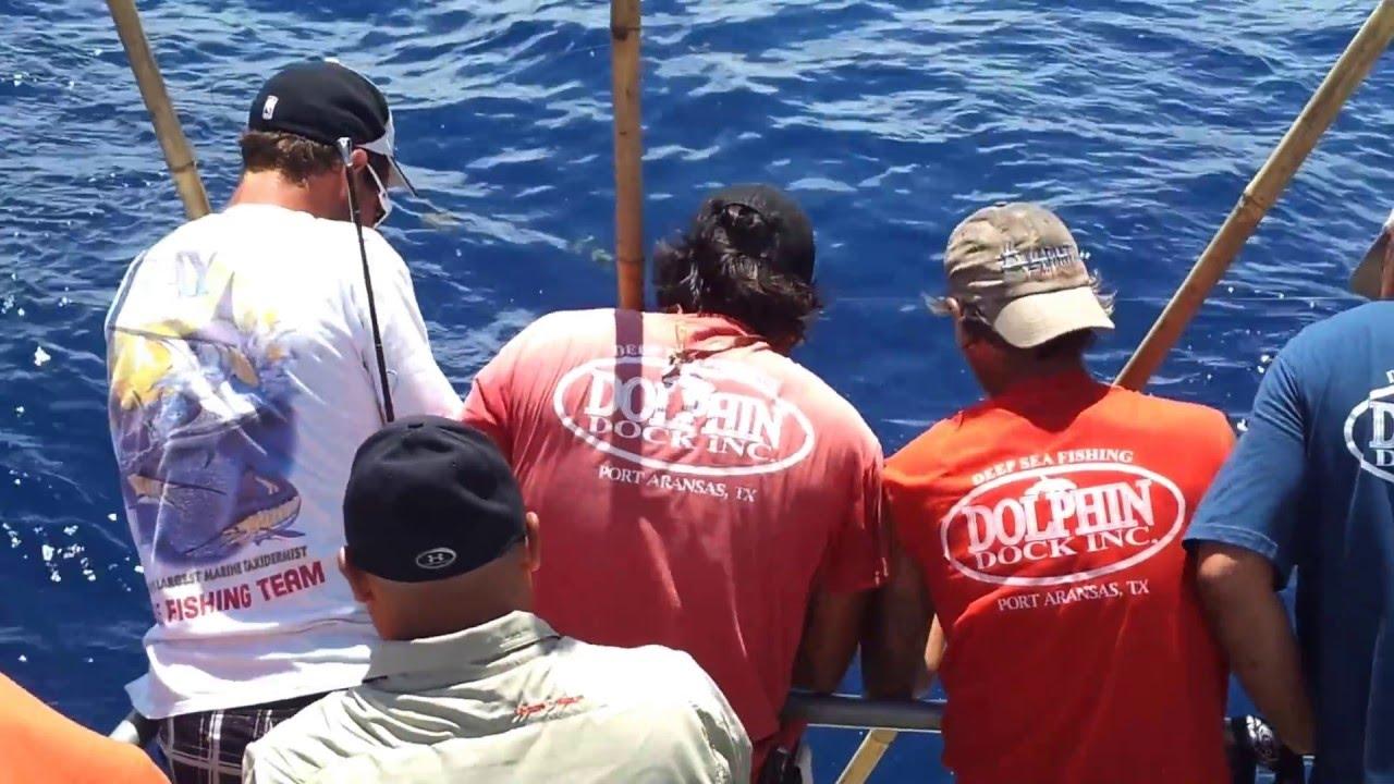 Garza friends deep sea fishing in port aransas youtube for Port aransas deep sea fishing