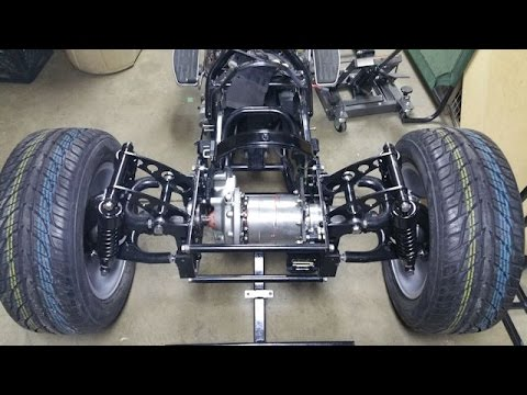 2008 Yamaha V-Star 1100 Trike Conversion part 32