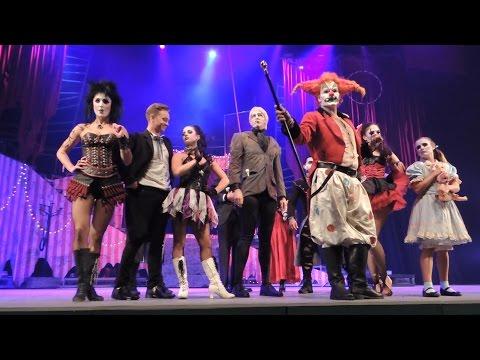 Part 1 JACK'S NIGHTMARE CIRCUS, Halloween Horror Nights 2014, Universal Studios Singapore.