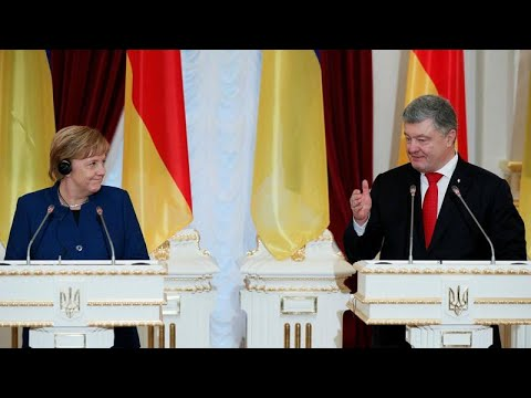 Ukraine : Merkel