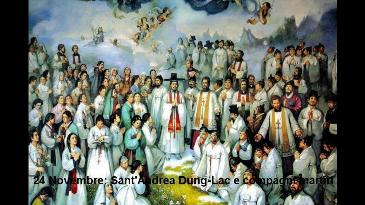 24 Novembre: Sant'Andrea Dung-Lac e compagni martiri (Biografia dialogata  di Cristian Messina) - YouTube