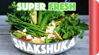 Super Fresh Green Shakshuka Recipe | Mystery Box Challenge