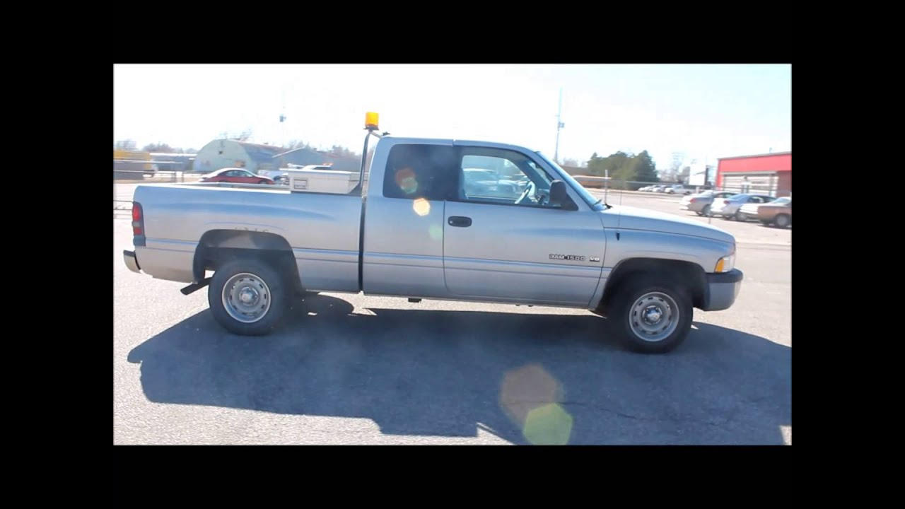 2001 Dodge Ram 1500 Club Cab Pickup Truck For Sale Sold