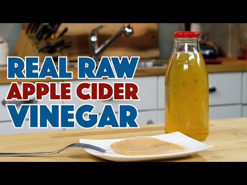 How To Make REAL Apple CIDER Vinegar