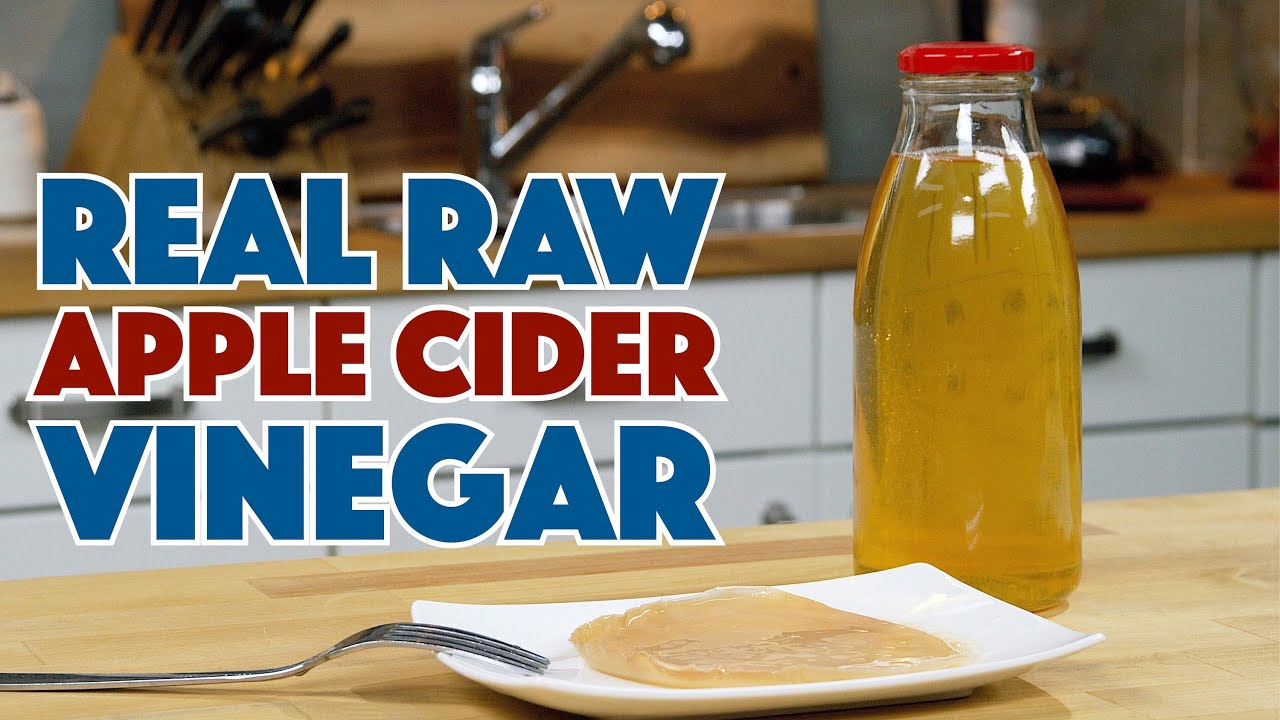 How To Make REAL Apple CIDER Vinegar - YouTube