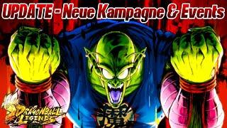UPDATE - Neue Kampagne - Summon Event mit allen Sparkings gut?! | Dragon Ball Legends Deutsch