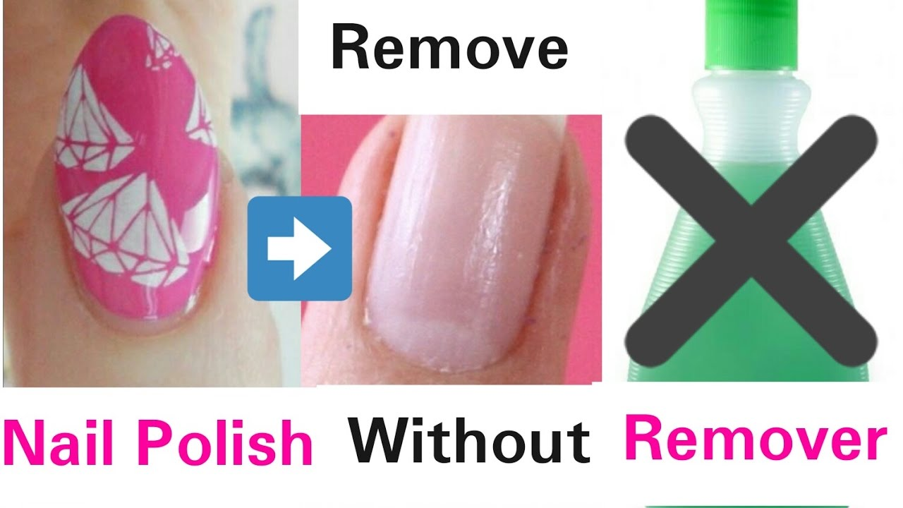 5 ways to remove nail polish without nail polish remover youtube. Black Bedroom Furniture Sets. Home Design Ideas