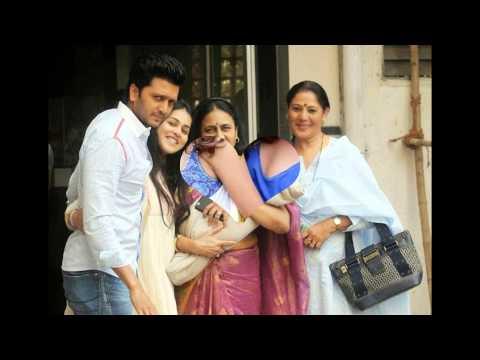 Genelia D'Souza and Riteish Deshmukh with cute Baby Boy ...