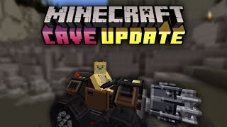 Minecraft Is Promoting This Cave Update Map... For $5