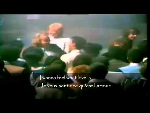 foreigner   I wanna feel what love is, I want to feel it   sous titres en français