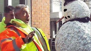 Hombre de Nieve embrujado vuelve a la vida