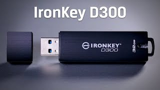 IronKey D300 Secure USB 3.0 Stick – 4GB - 128GB | Kingston