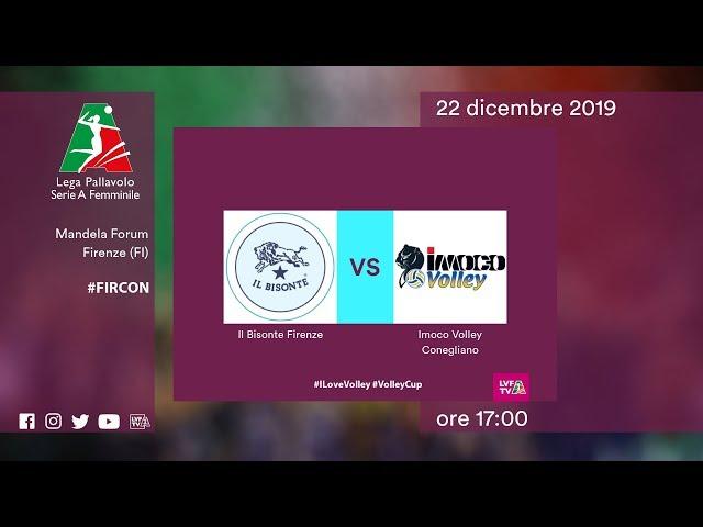 Firenze - Conegliano | Speciale | 12^ Giornata | Lega Volley Femminile 2019/20