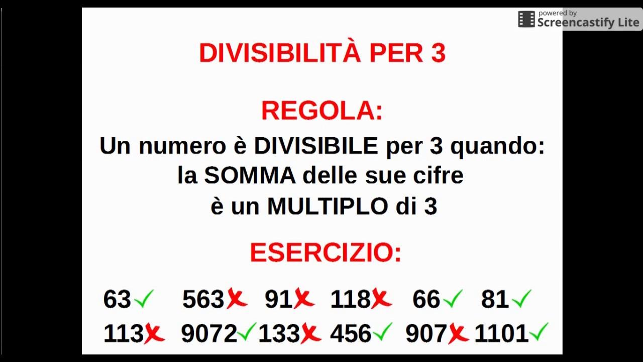 new arrival dcd49 3db6f Aritmetica_1.7.4: i criteri di divisibilità (parte 1)