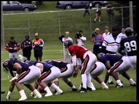 1992 Chicago Bears Training Camp Mike Ditka Mike Singletary Richard Dent Jim Harbaugh Neal Anderson