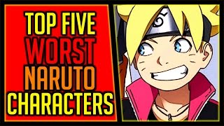 Top 5 Least Favorite Naruto Characters