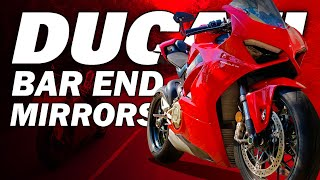 Why I replaced my Ducati Panigale V4 Mirrors with Bar End Mirrors