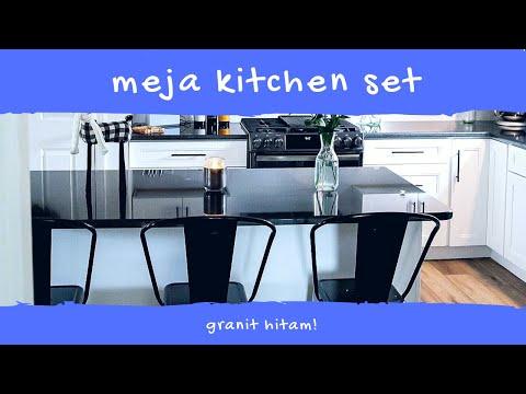 Hubungi 0812 8606 6416 Meja Kitchen Set Granit Hitam Youtube