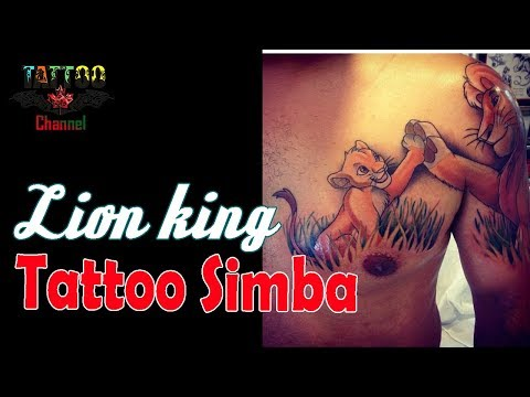 Lion King Tattoo Simba