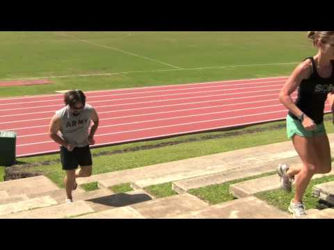 SOHI Fitness Hot Hard Core Workout (Bleacher Running)