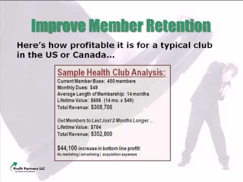 Health Club Retention Strategies  -video-