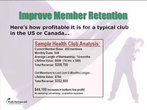 Health Club Retention Strategies  -video-