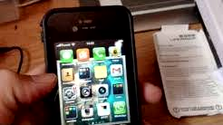 Unboxing ebay lifeproof case for iPhone 5