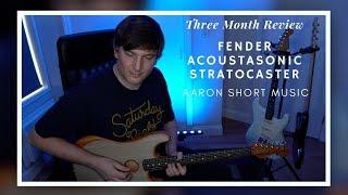 Fender Acoustasonic Stratocaster - 3 Month Review