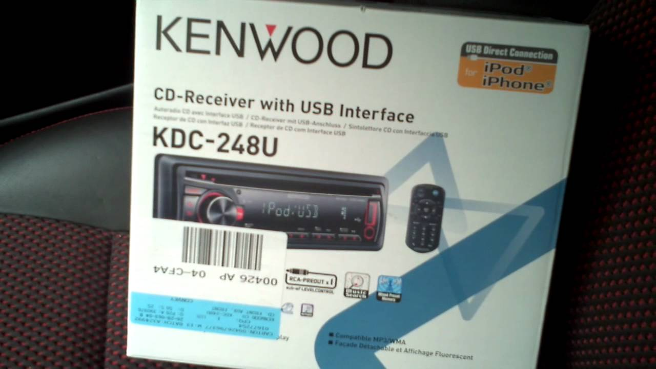 Kenwood Car Stereo Kdc248u Wiring Diagram