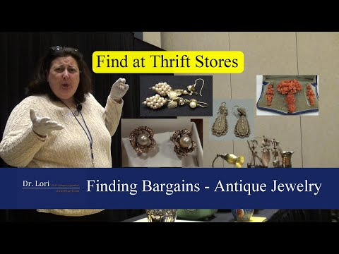 Value & Find Antique Jewelry And Earrings By Dr. Lori