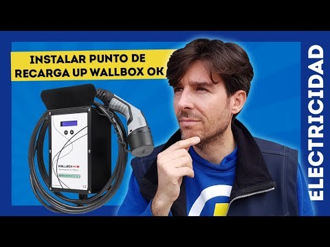 INSTALACIÓN EN CASA DE PUNTO DE RECARGA WALLBOX OK PARA NISSAN LEAF