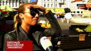 Reportáž TV Nova, měření penisů