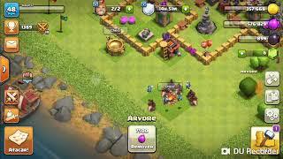 Clash of clans batalha de Cla e de trofel jogo de estrategia