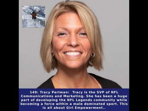 149: Tracy Perlman: Tracy is the SVP of NFL Communications and Marketing.  She has been a huge...