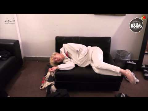 [BANGTAN BOMB] It's the pose when BTS sleep normally