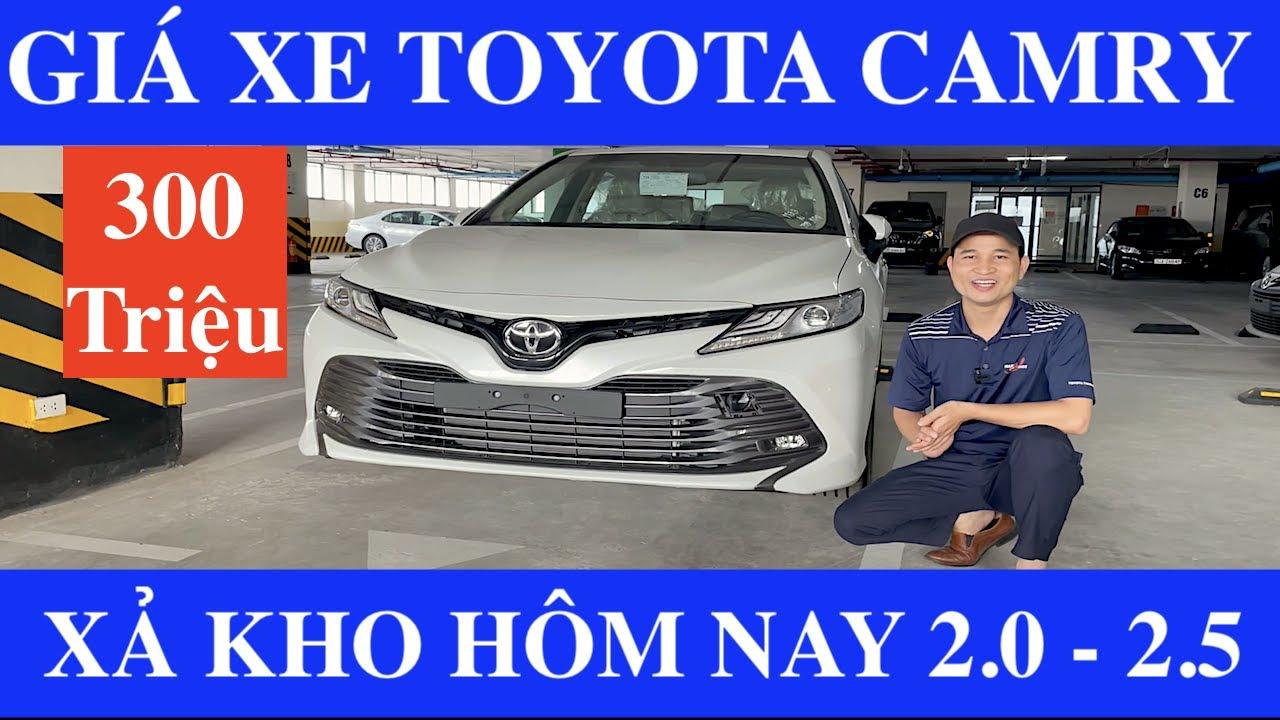 ✅Bảng Giá Xe Toyota Camry 2.0G và 2.5Q Tháng 9/2021 Cập Nhật Khuyến Mại Lăn Bánh Mới Nhất Hôm Nay