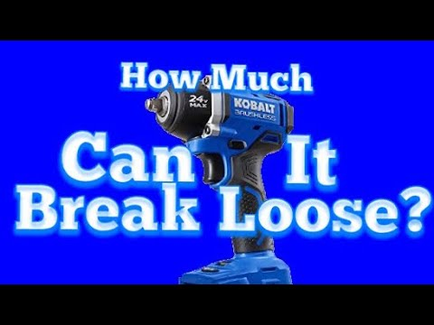 "Kobalt 24v Brushless 3/8"" Impact Test ! How much can it really break loose ?"