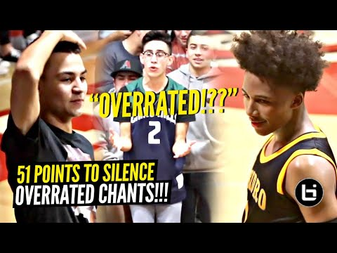 "Mikey Williams SILENCES ""OVERRATED"" Chants w/ a 51 POINTS VENGEANCE!!"