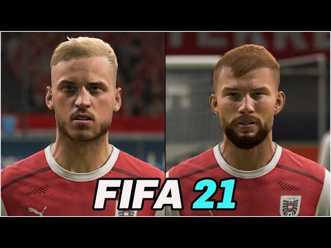 FIFA 21 | ALL AUSTRIA PLAYERS REAL FACES