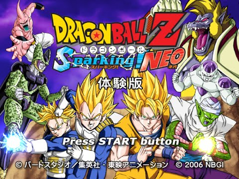 [PS2] Dragon Ball Z Sparking! NEO (Trial Version)