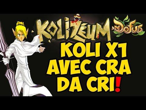 DOFUS KOLI X1 COM CRA  DA CRI PROVANDO QUE CRA É LIXO