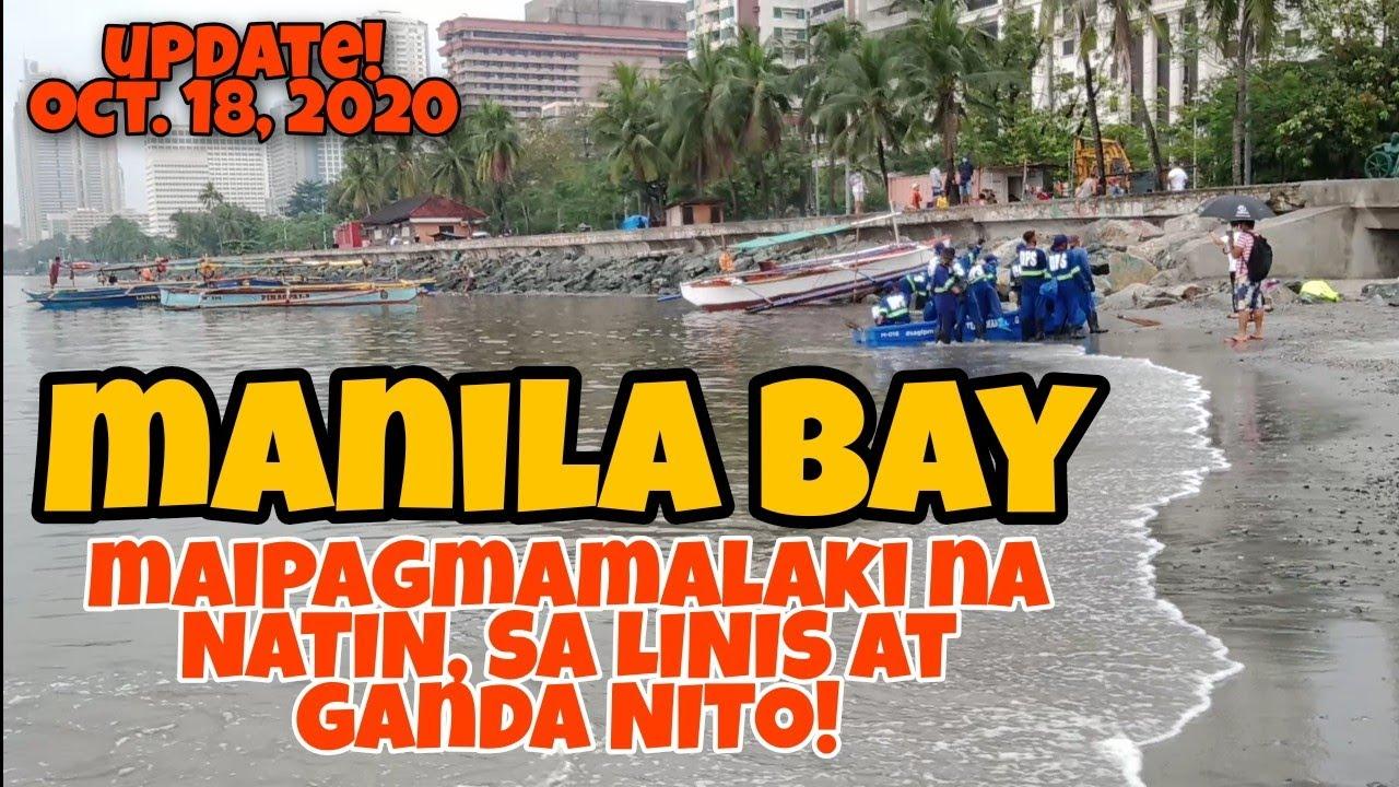Download MANILA BAY, NAKAKAMANGHA ANG LINAW NG TUBIG, MAIPAGMAMALAKI NA NATIN.