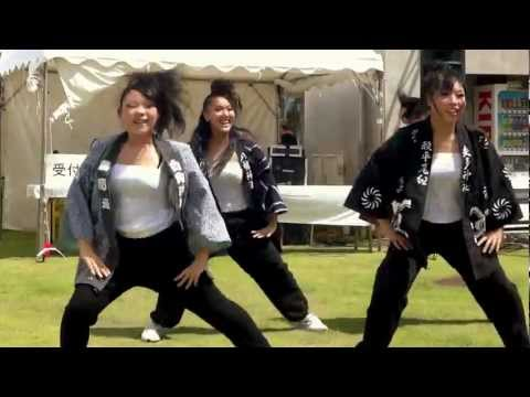 2011 杉戸夏祭り(庄和舞人 軌)ー南中ソーランposted by lolamaarld