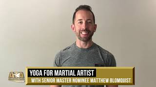 WS19 Yoga for Martial Artists w/ SMN Matthew Blomquist | ATA Martial Arts