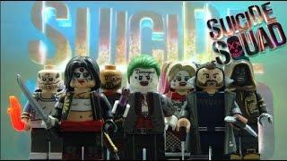 Custom Lego Suicide Squad Minifigures