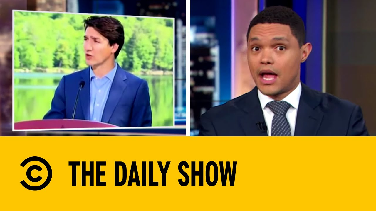 Justin Trudeau Initiates Ban on Single Use Plastic | The Daily Show with Trevor Noah