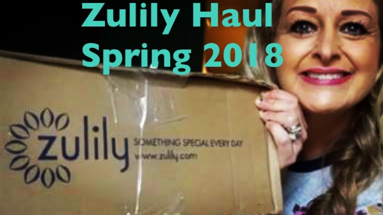 ac90e3ebd6a ZULILY HAUL AND UNBOXING SPRING 2018 - YouTube