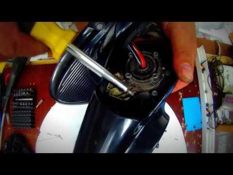 Repair mechanism of folding side mirrors Chrysler Voyager   Ремонт механизма бокового зеркала